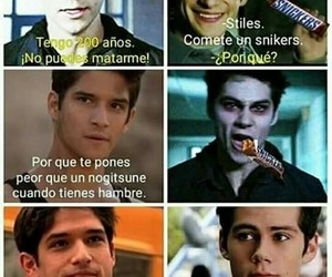 chocolate, lol, and teen wolf image