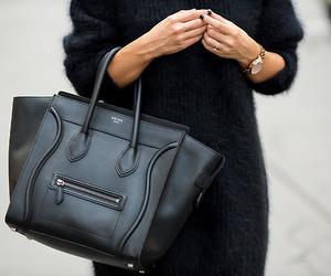 fashion, black, and celine image