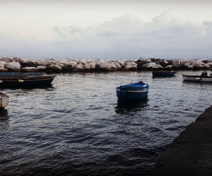 boats, dark day, and my life image