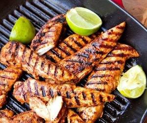food, Chicken, and grill image