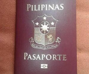 passport, filipinas, and travel image
