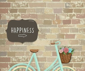 wallpaper, happiness, and bike image