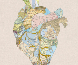 heart, travel, and world image