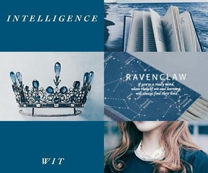 aesthetics, blue, and harry potter image