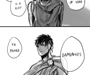art, drawing, and princes image