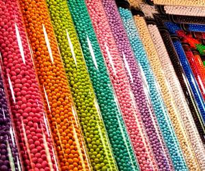 colorful, candies, and sweet image