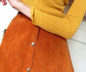orange, yellow, and fashion image
