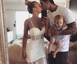 family, baby, and couple image