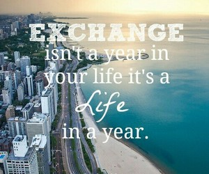 exchange, life, and quote image