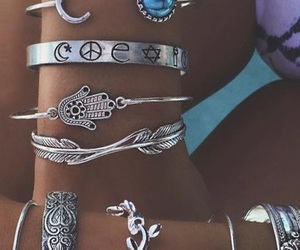 jewelry, boho, and accessories image