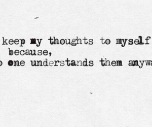 quotes, thoughts, and sad image
