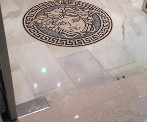 Versace, luxury, and floor image