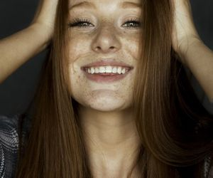 freckles, ginny, and girl image