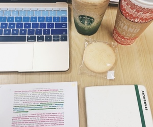 coffee, school, and study image