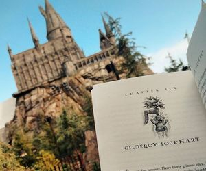 book, universal studios, and harry potter image