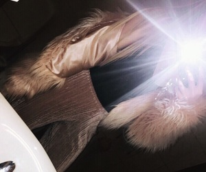 blog, faux fur, and flash image