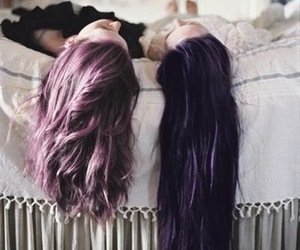 friends, hair, and love image