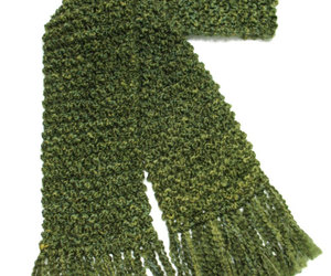 etsy, long scarf, and hand knit scarf image