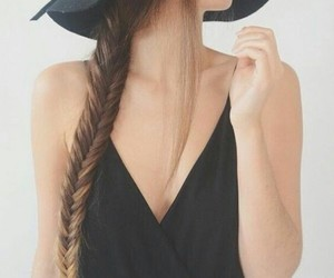 moda, outfits, and trenzas image