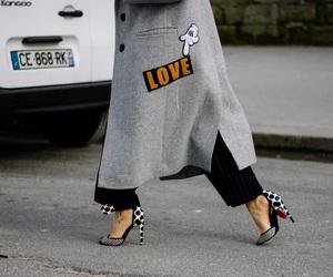 black, high heels, and street image