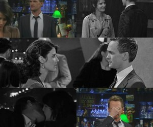 how i met your mother, hurt, and lily image