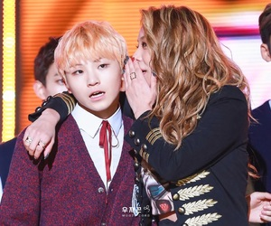 Seventeen, woozi, and ailee image