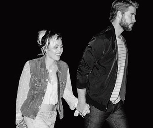 couple, cutest, and miley cyrus image