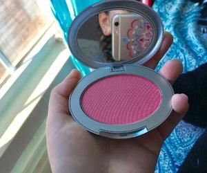 blush, make up, and natural light image
