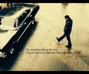 alone, dean winchester, and supernatural image