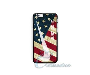 america, nike, and iphone case image