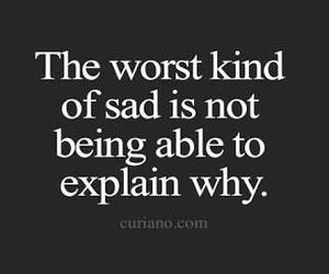 sad, quotes, and sadness image