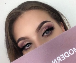 beauty, makeup, and fleek image