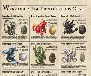 art, dragon, and egg image