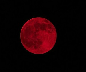 red, moon, and black image
