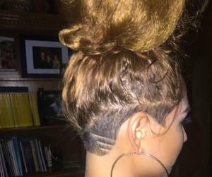shaved head, @baddies, and hair looks image