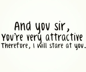 attractive, quote, and text image