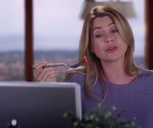 actress, ellen pompeo, and Greys image