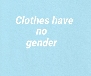 blue, gender, and quotes image