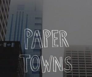 book, city, and john green image