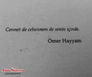 Turkish and ömer hayyam image