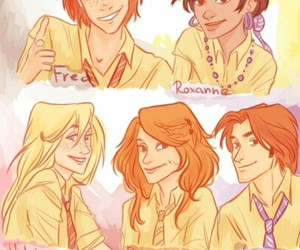 harry potter, rose weasley, and teddy lupin image