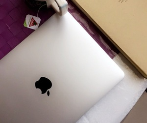 apple, beautiful, and book image