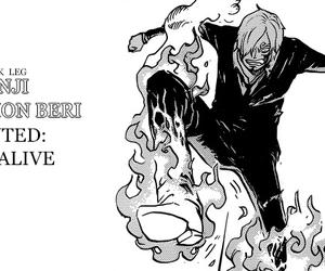 one piece, sanji, and anime image