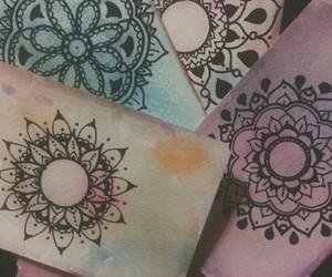 drawing, nice, and mandalas image