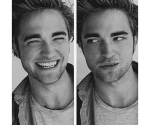 robert pattinson, smile, and boy image