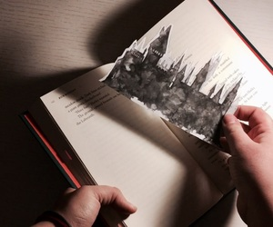 books, diy, and harry potter image