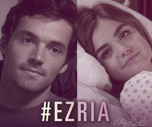 ezria, pretty little liars, and pll image