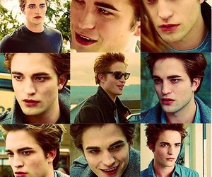 edward cullen, twilight, and robert pattinson image