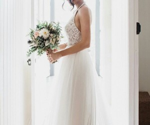 jess conte, wedding, and couple image