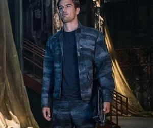 allegiant, theo james, and four image